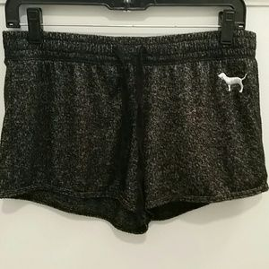 PINK by Victoria's Secret Black Sleepwear Shorts S